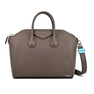 62f969bc17 Givenchy. New Givenchy Medium Antigona Sugar Leather Satchel